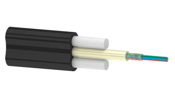 Подвесной оптический плоский кабельОКП(с1)ПТ(1.0 кН) | Оптический плоский кабель на 1 кН | Внутридомовой оптический кабель