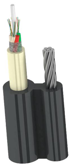 Ютекс, Utex,Кабель для подвеса с вынесенным стальным тросомОКП8(2,7)М(2.7 кН)