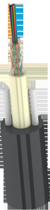Aerial RoundA-D(ZN)2Y Подвесной Круглый Кабель типа ОКП (С1.5)