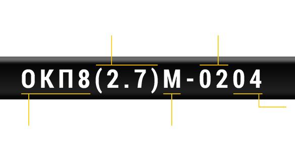 Маркировка оптических кабелей компании ЮТЕКС УКРАИНА